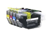 4 x High Capacity ink cartridges to Replace Brother LC3219XL / LC3217 value pack
