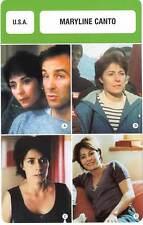 FICHE CINEMA :  MARYLINE CANTO -  USA (Biographie/Filmographie)