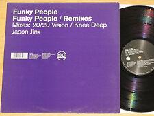 FUNKY PEOPLE - REMIXES - SLIP'N'SLIDE Kevin William Hedge Joshua Alexander Milan