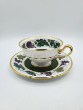 Vintage Reproduction of Kent Grape? Spode Pattern Period AD 1808  Tea Cup Saucer