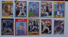 2008~ Lot of 10 Different Gary Carter MLB Baseball Cards ~ New York Mets