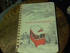 1976 Three River Cookbook by Child Health Assoc. of Sewickley PA