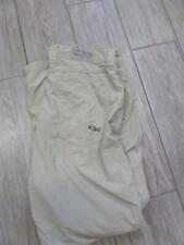 OUTDOOR RESEARCH pants 7oz lightweight 32x32 nylon khaki