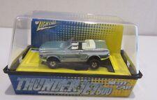 Jl Johnny Lightning T-Jet 500 Slot Car Ho Scale Tuff Ones Ford Mustang Conv Blue