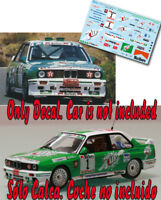 Decal 1:43 Jose Maria Ponce - BMW M3 - Rally Telde 1995