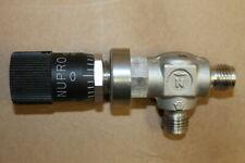 Swagelok/NuPro SS-4LA-MH HighFlow Metering Valve, 1/4 in, Angled, Vernier Handle