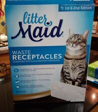 LitterMaid Waste Receptacles + Lids 1st & 2nd Edition  (Qty 17 of 18)