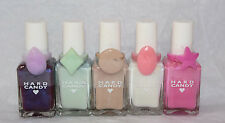 2X Hard Candy Nail Polish with ring limited edition U CHOOSE COLOR - Sealed