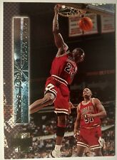 1996-97 Stadium Club Shining Moments #SM2 Michael Jordan, Insert, Chicago Bull