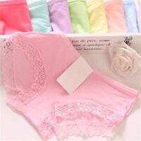 Women Lace Soft Underpants Underwear Knickers Cotton Panties