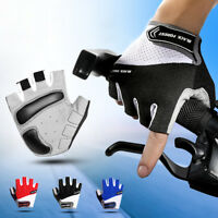 Cycling Gloves Half Finger Biking Anti-slip Breathable Bicycle Cycle Mitts