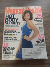 WOMEN'S HEALTH MAGAZINE, MANDY MOORE, TIGHT BUTT FLAT ABS, JULY AUGUST 2009