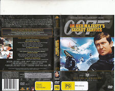 On Her Majesty's Secret Service-007-1989-George Lazenby-[2 DVD Set]-Movie-DVD