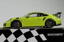 1 18 Minichamps Porsche 911 (991) Gt3 RS 2015 lightgreen