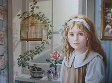 """PATI BANNISTER """"Songbird"""" Print Signed and Numbered"""