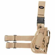 Mfh Fully Adjustable Right Tactical Leg Holster Vegetato Desert