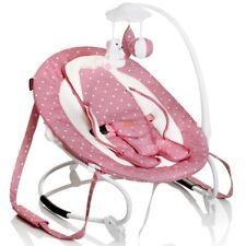 Baninni: Babyschaukel Babywippe mit Mobile rosa Mädchen Tragegurte Babyliege Neu