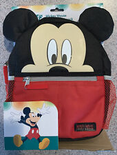 Disney Baby Mickey Mouse Mini Backpack Safety Harness Straps Toddlers Bag Black