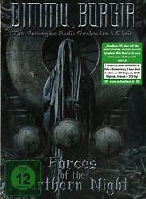 DIMMU BORGIR FORCES OF THE NORTHERN NIGHT COFANETTO 2 CD+ 2 DVD NUOVO SIGILLATO