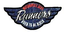 Applikation zum Aufbügeln Bügelbild 1-202  Runners