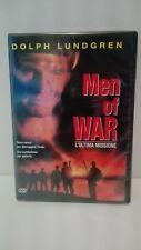 MEN OF WAR L'ULTIMA MISSIONE DVD EX NOLEGGIO USATO GARANTITO DOLPH LUNDGREN