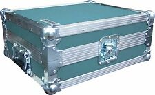 Technics SL1210 Turntable DJ Deck Swan Flight Case (Turquoise Rigid PVC)