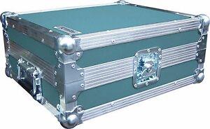Technics SL1210 Turntable DJ Deck Swan Flight Case (Turquoise Rigid PVC)