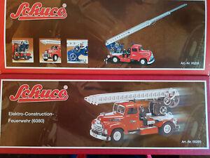 Schuco – Elektro-Construction-Feuerwehr 6080 limitierte Auflage