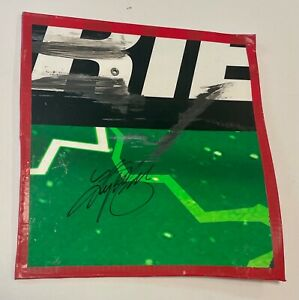 2020 Kyle Busch Interstate Batteries Signed Race Used 9x10 Sheetmetal Piece #1