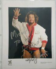 EUGENE WWE SIGNED AUTOGRAPHED 8.5 X11 PROMO PHOTO
