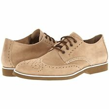 Sperry Top-Sider 0286872 Men's Boat Oxford Wingtip Shoes Cement Suede 10.5 M US