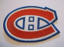 "Montreal Canadians Embroidered Patch~3 3/8"" x 2 3/8""~NHL~Iron Sew On~Ships FREE"