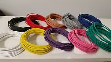 100 FEET AUTOMOTIVE PRIMARY WIRE 14 A GAUGE AWG HIGH TEMP GXL 10 COLORS 10 FT EA
