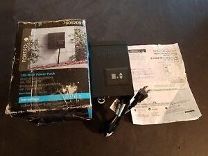 NEW IN BOX Portfolio Outdoor 120w Magnetic Transformer 0092091
