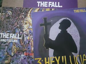 """The Fall 3 x uk 12"""" ep's 1986 beggars banquet see info"""