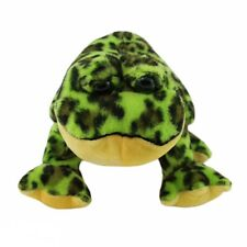 Webkinz Bullfrog Plush Stuffed Animal HM114 Spotted Green Yellow NO CODE