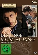 6 DVDs *  DER JUNGE MONTALBANO - COMMISSARIO MONTALBANO  # NEU OVP &