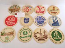 Lot de 12 Sous-bocks anciens allemands, tbe - * sb11