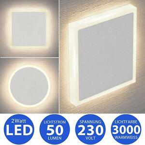 Premium LED Treppenbeleuchtung Treppenleuchte Stufenlicht Nachtlicht 230V 3000K