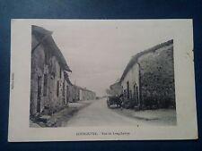 L650. Cpa. 55. Meuse. Courouvre. Rue de Lonchamps 1916