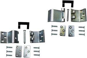 Door Hinge Side Loading Door Left Door Lower and Upper Set of 2