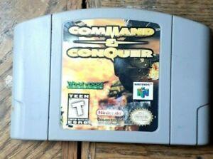 Command & Conquer (Nintendo 64, 1999) VG Shape  Authentic