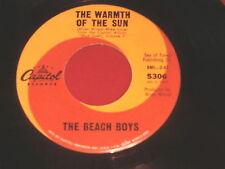 BEACH BOYS~THE WARMTH OF THE SUN~DANCE DANCE DANCE~CAPITOL 5306 ~ POP 45