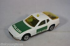 NOREV JET CAR 864 PORSCHE 924 POLIZEI GERMAN POLICE MINT CONDITION