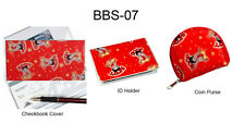 Betty Boop ID Holder Coin Purse Checkbook Cover Lenticular Set of 3 #BBS-07#