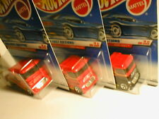 1999 Hot Wheels First Editions #8 SEMI FAST  3 different variations grill black