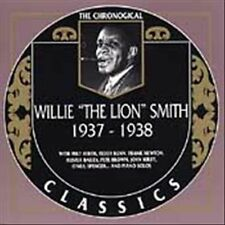 WILLIE THE LION SMITH 1937-38 CLASSICS CD NEW SEALED LONG OUT OF PRINT