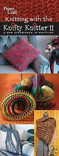 SALE! KNITTING WITH KNIFTY KNITTER!  LOOM PATTERN BOOKLET! MAKE HAT~PILLOW~SCARF