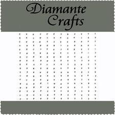 180 x 1mm Clear Diamante Self Adhesive Rhinestone Body Nail Vajazzle Gems