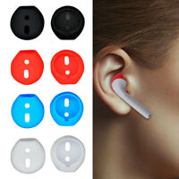 1/3/5 Pairs Replacement Silicone Eartips Anti-Lost Earbud Cover For Apple Airpod